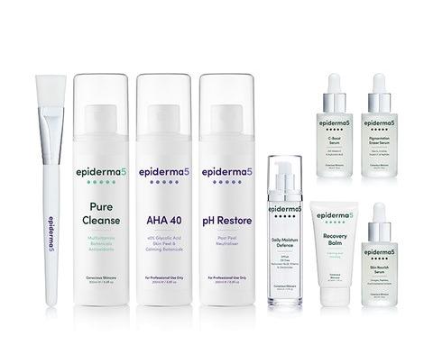 epiderma5 product range
